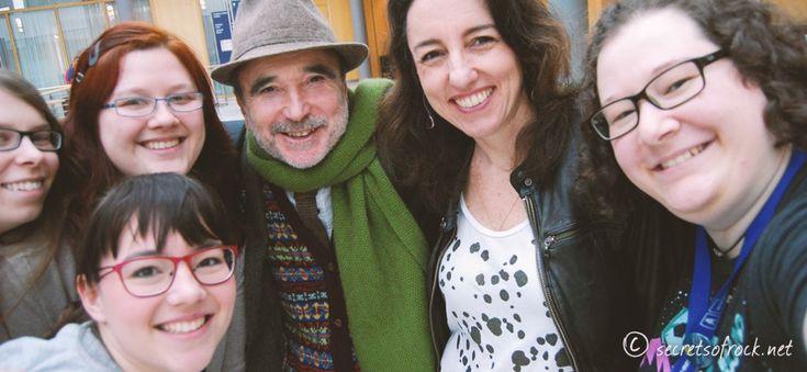 Selfie mit Sophia Bennett und Barry Cunningham