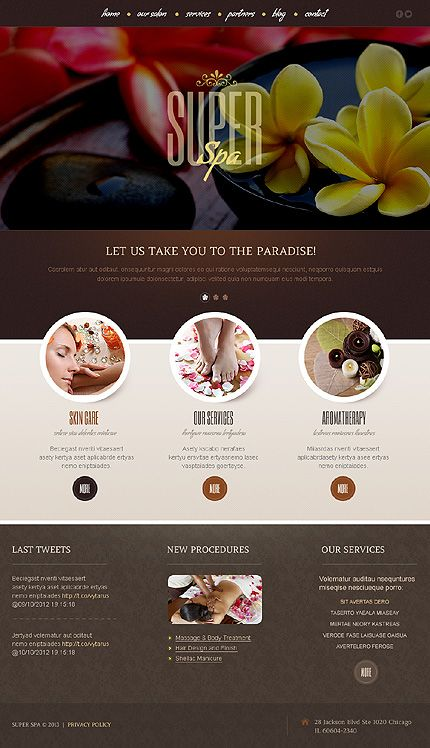 Website Template #42552