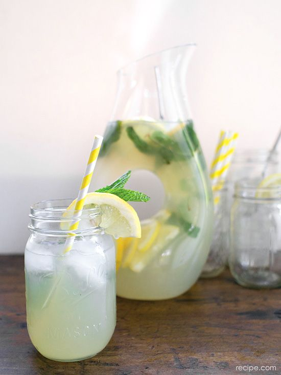 Ginger Mint Lemonade: Add gin to make it a refreshing cocktail or keep it non-alcoholic for a perked-up summer drink.