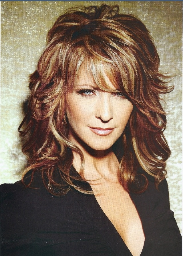 Great Shag cut for curly hair Maybe next falls hair color