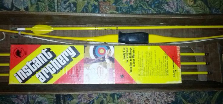 Fred Bear Bow and Arrow, Instant Archery Action 60 Inch Recurve Set. Outdoor Archery Hunting Shooting Fun! by FriendsRetro on Etsy