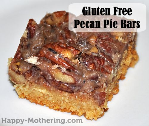 Pecan Pie Bars Recipe {Gluten Free, Dairy Free, Egg Free}
