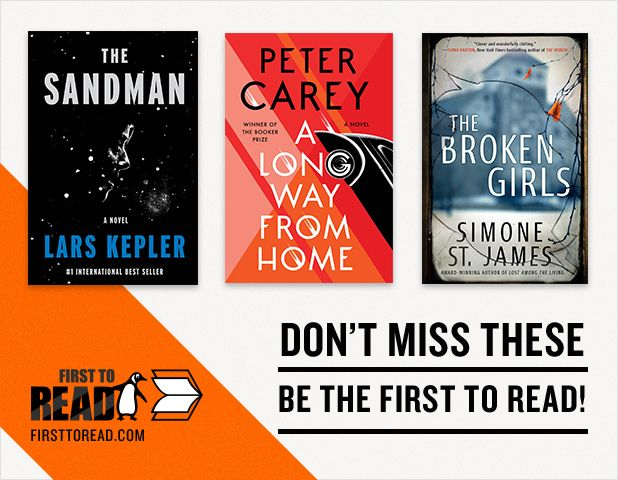 Check out these great new books available on First to Read!