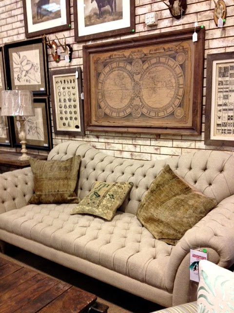 Burlap Sofa From Woodstock Furniture Outlet