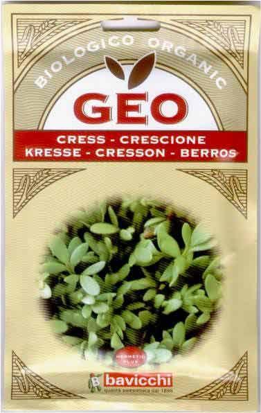 Germogli di Crescione Bio - Semi - Semilandia