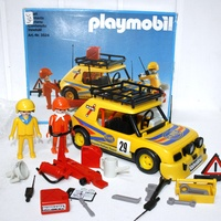 3524 Voiture rallye playmobil avec boite - Play-Original - Now I know what to get my son for his birthday!