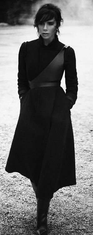 Victoria Beckham, Photographed by Boo George, Styled by Christiane Arp, for Vogue Germany November 2015