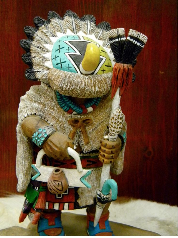 Authentic Native American Handmade Materials: CottonWood Artist: Fred Chapella…