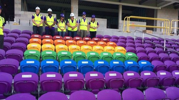 Orlando City soccer club honors Pulse nightclub with a touching tribute