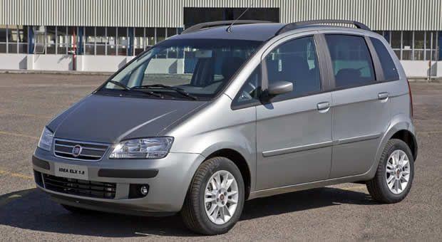 Vazamento do ar condicionado automotivo do Fiat Idea
