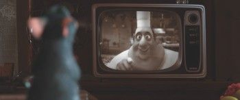 """Remy and Chef Gusteau from Ratatouille 6<<<I know why his name was Guateau!  The sense of taste (one of the five senses) is called the """"gustatory sense""""!"""