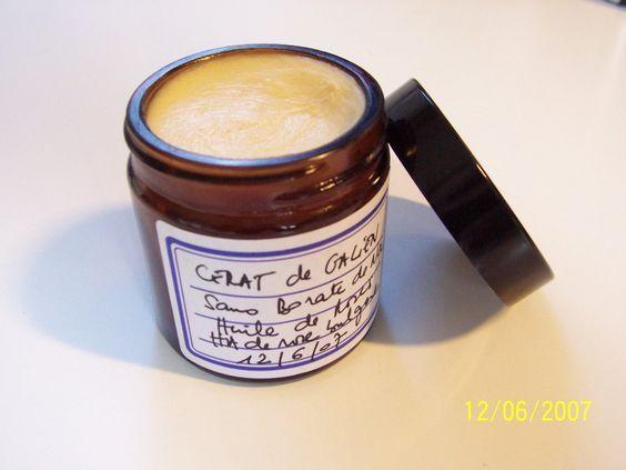 Le Cérat de Galien sans borax