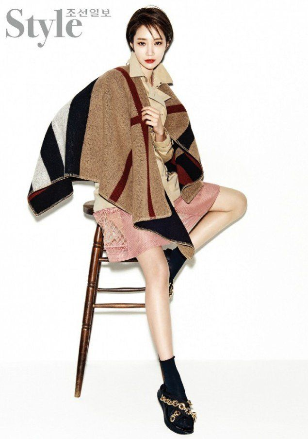 Go Jun Hee flaunts this spring's trendiest outerwear in 'Style' | allkpop.com