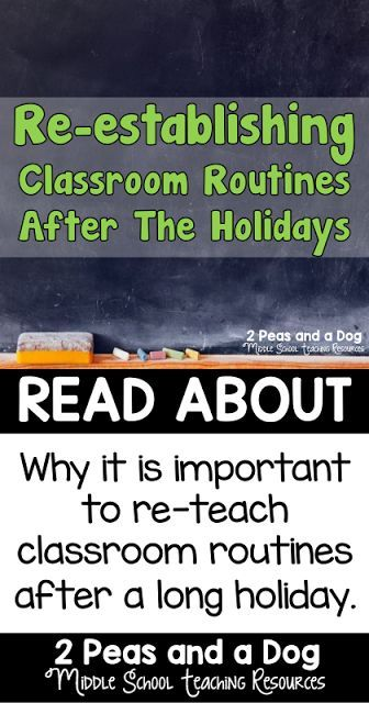Helping students get back into the school routine after a holiday break can be challenging. Check out these great ideas for goal setting and re-establishing your classroom routine.