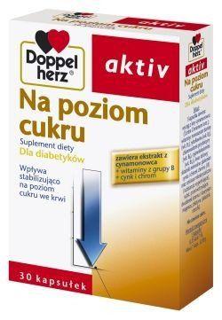Doppelherz Aktiv The level of sugar x 30 caps.