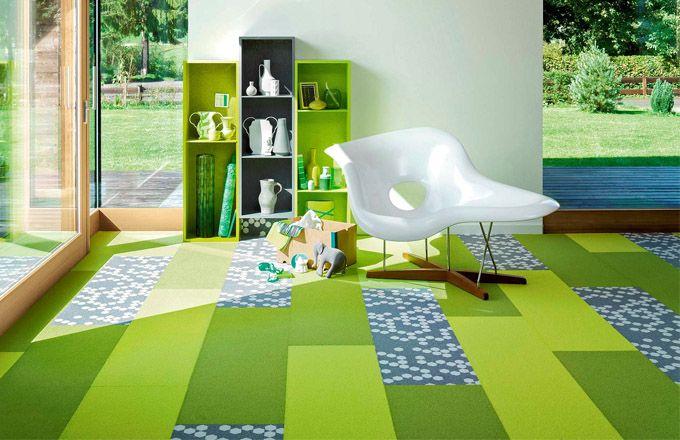 Crazy podlahy: zařizujeme interiér kreativně
