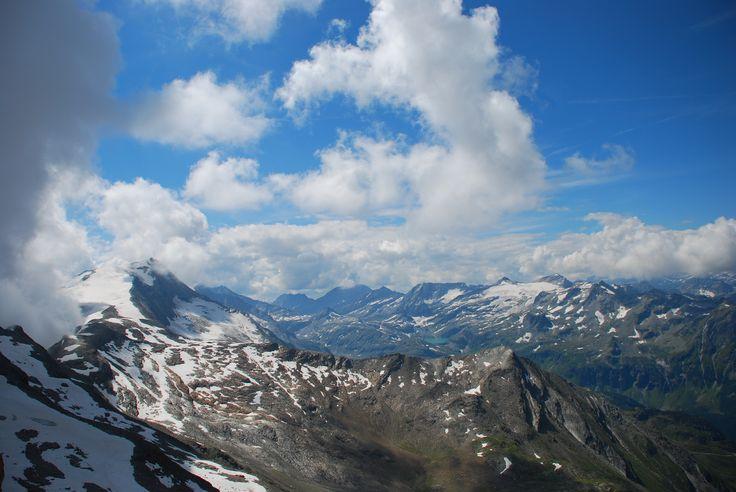 Gdzie okiem sięgnąć, tylko Alpy! Fot. Paweł Paśnik
