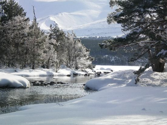 Aviemore is a town and tourist resort, situated within the Cairngorms National Park in the Highlands of Scotland.