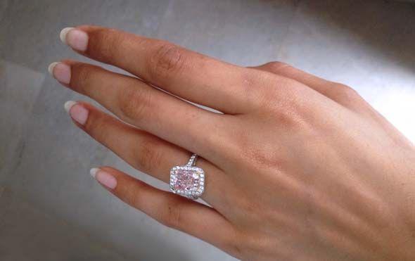Rahaminov Diamonds 7carat pink diamond ring Image Erika Winters