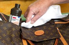 How to Clean and Care for a Louis Vuitton Bag   eHow