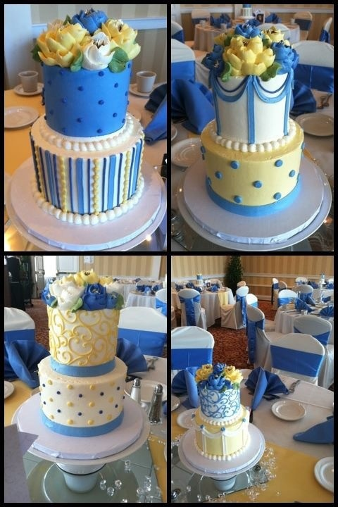 cakes by the White Flower Cake Shoppe   Our Wedding cakes   Pinterest