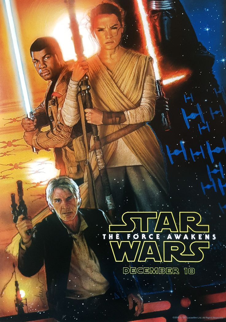 Take a look at the official 'Star Wars Episode VII: The Force Awakens'