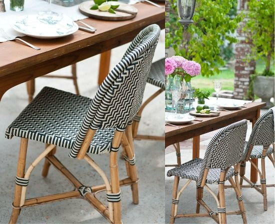 French Bistro Chairs. Outdoor ...