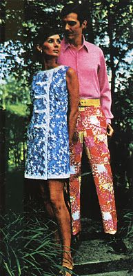 early 70s fashion shoot in Palm Beach