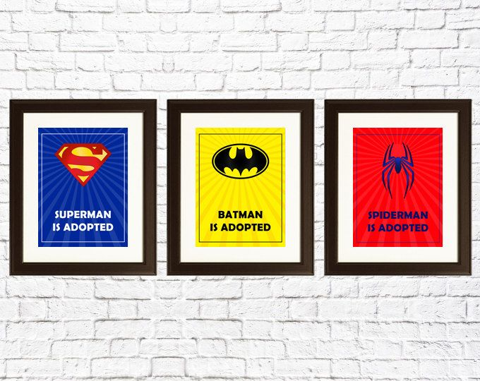 128 best adoption images on pinterest sensory activities sensory we would recommend using ne with positive adoption language and say batman was adopted adoption gift superheros superman was adopted batman was adopted negle Choice Image