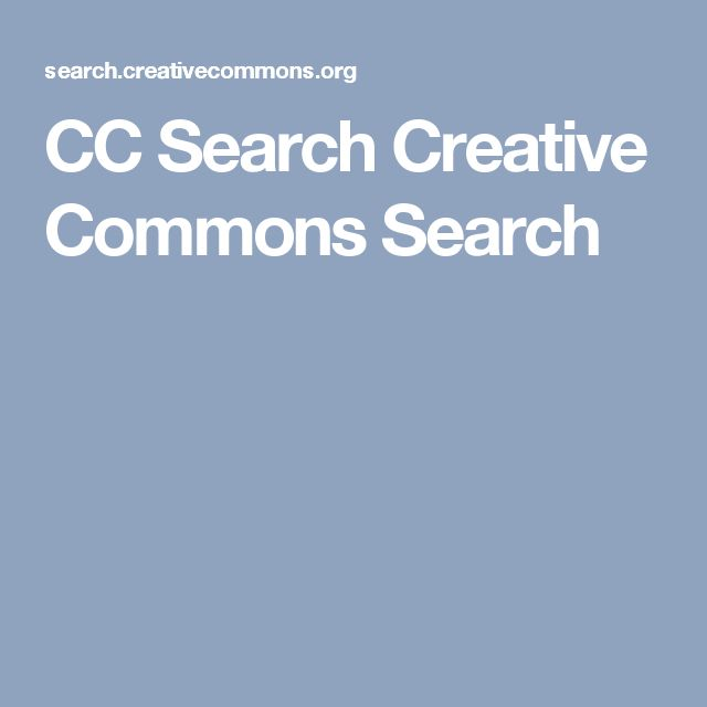 CC Search  Creative Commons Search