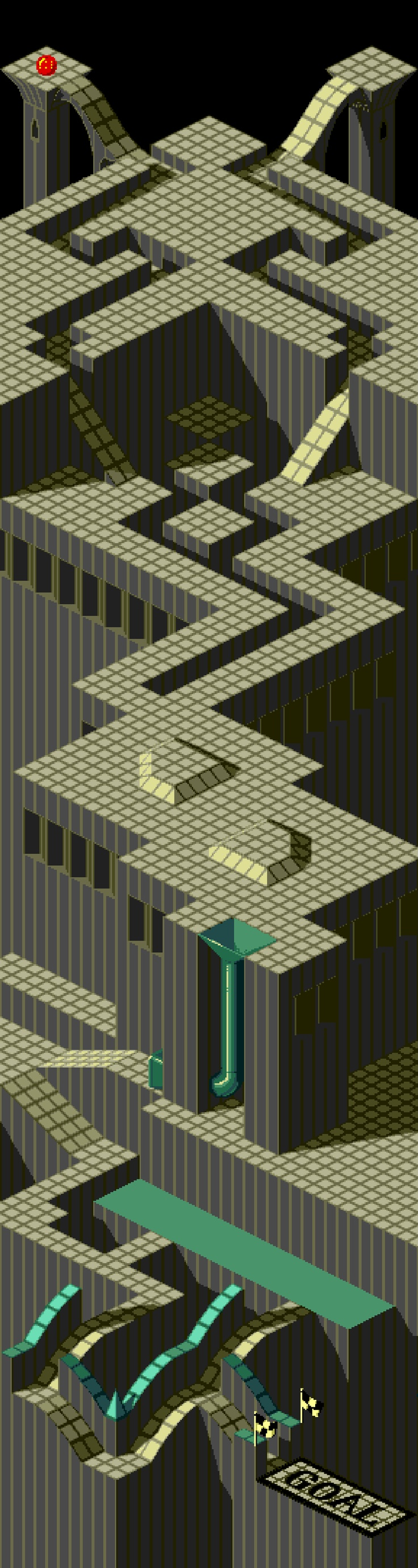 Marble Madness...I forgot about this game