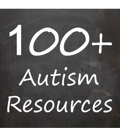 100 + Autism Resources. A list of resources. #SummitDD