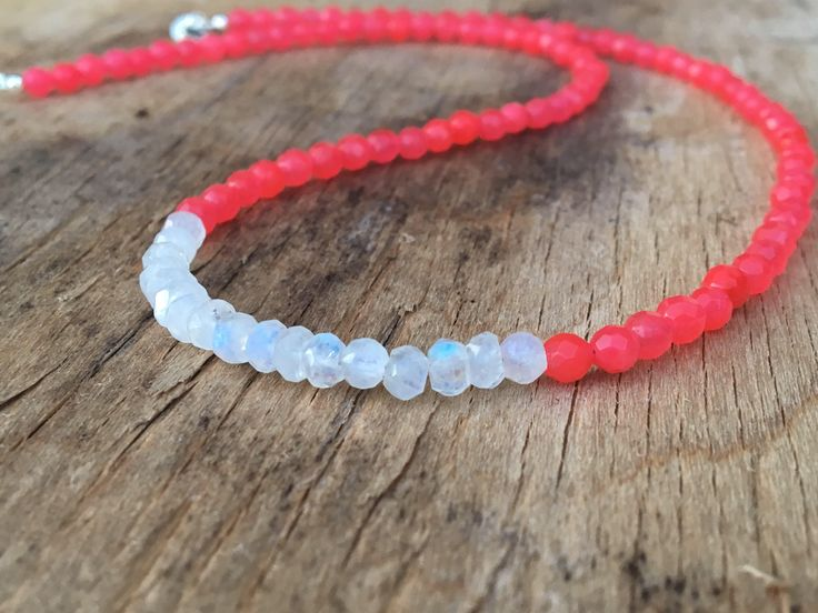 A personal favourite from my Etsy shop https://www.etsy.com/no-en/listing/531488726/pink-stone-necklace-moonstone-necklace