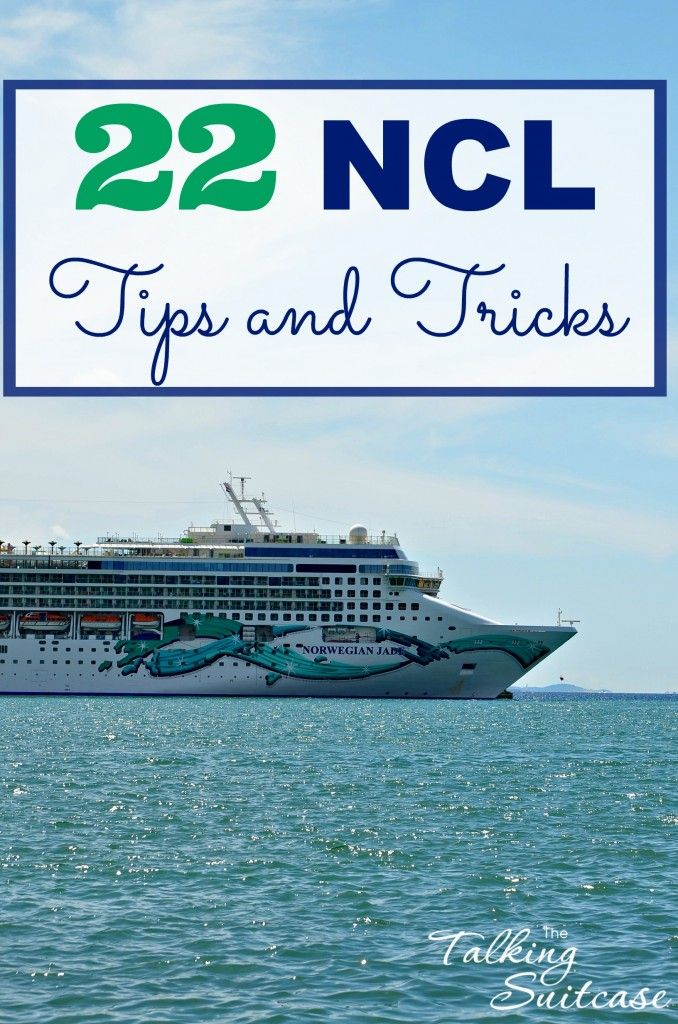 Who doesn't love unlimited food, around the clock entertainment and almost daily visits to new countries? That's why we put together these 22 NCL Tips and Tricks. Don't miss a chance to experience all that the cruise line has to offer with these Norwegian Cruise Line secrets!