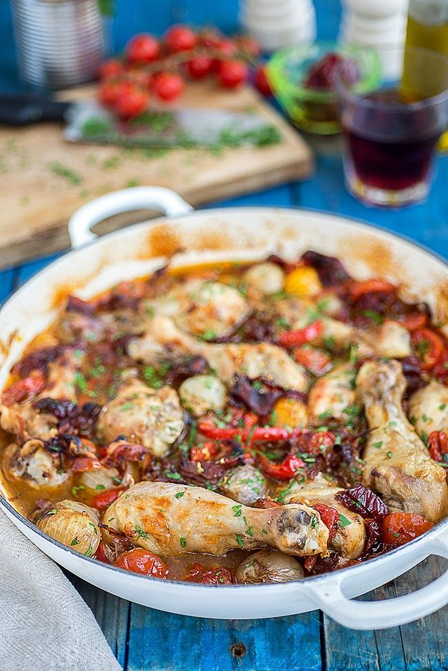 Boozy Italian chicken: this delicious one-pot chicken dish is extremely easy to prepare and sure to become a family favourite.
