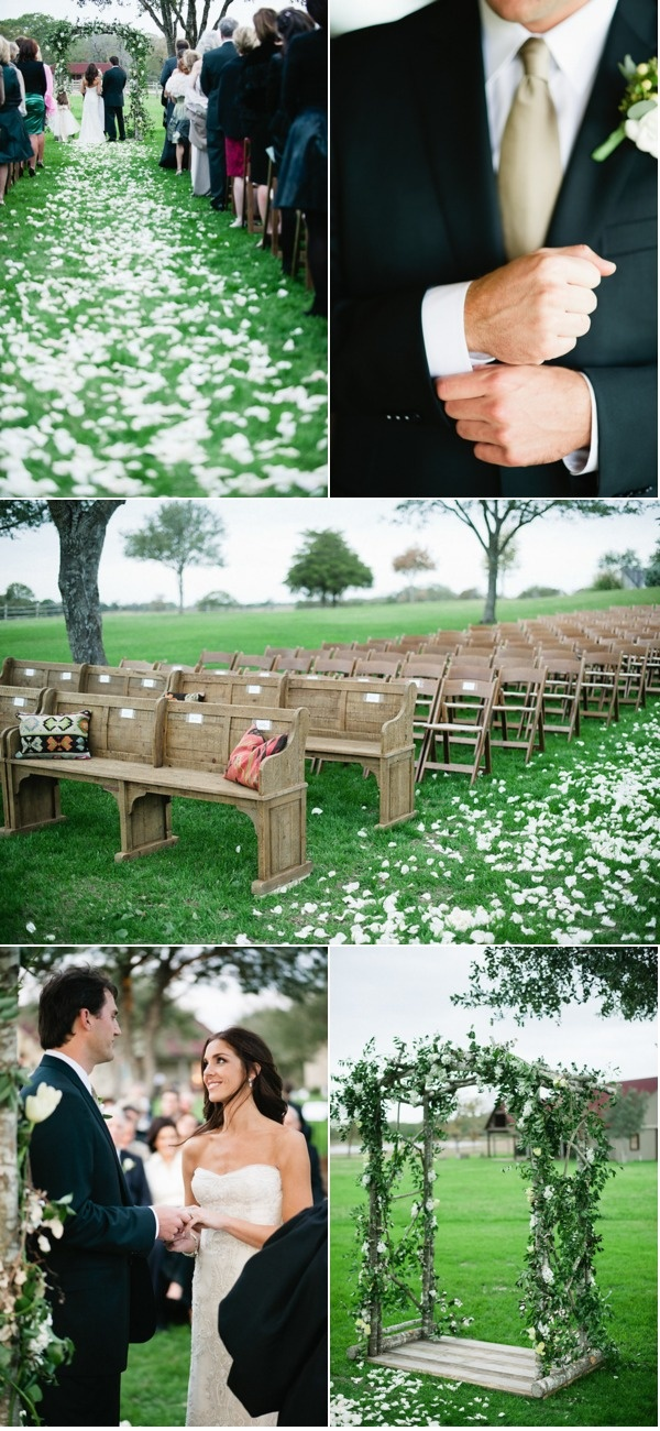 This is such a pretty but simple wedding. No complicated themes... just them. If I wasn't going extreme (but let's be honest I probably will) I'd LOVE this.