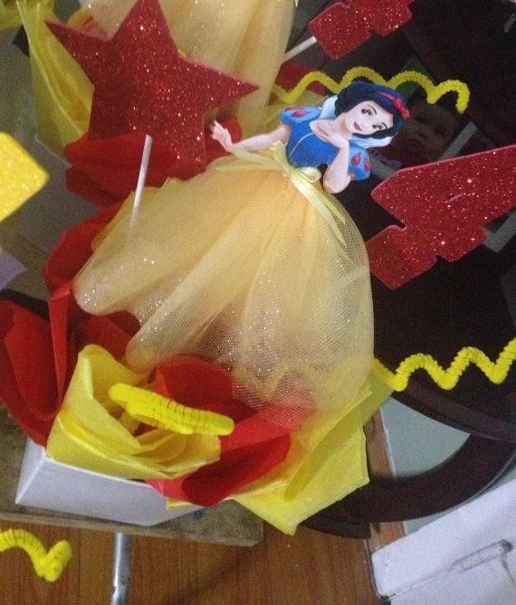 Princess Snow White Birthday CenterPiece by FantastikCreations