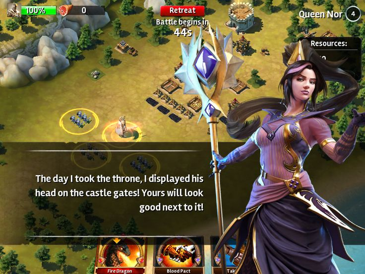 Siegefall | Cutscene | UI HUD User Interface Game Art GUI iOS Apps Games | Gameloft | www.girlvsgui.com
