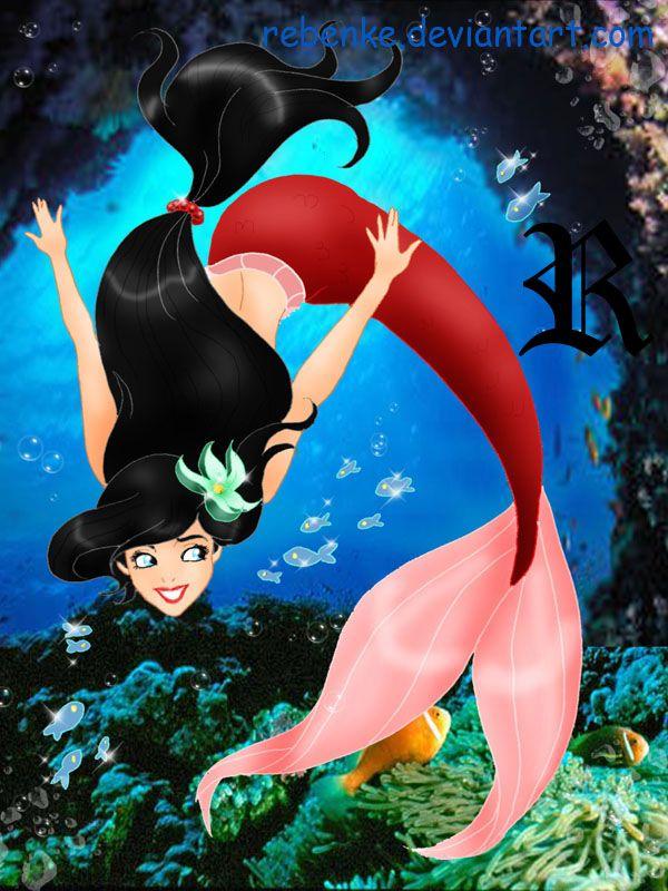 Melody: The Little Mermaid: Disney Art: Disney: Disney Sketch: Disney Princesses: Melody little mermaid disney by rebenke.deviantart.com on @deviantART