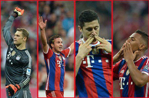 Fotostrecke: Marktwert der FC Bayern-Spieler : So teuer sind die Bayern-Spieler! - Boateng ist jetzt 35 Millionen wert! - Abendzeitung München
