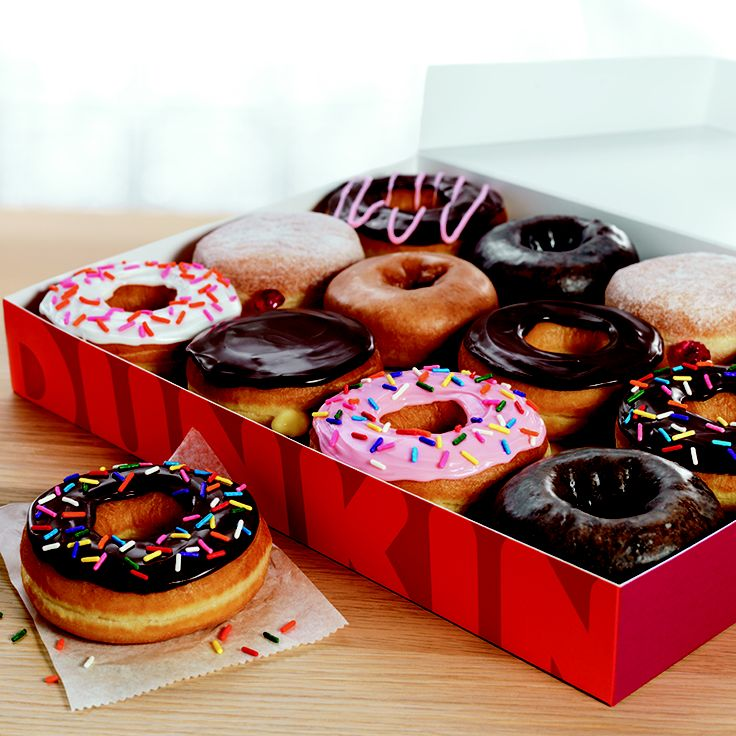 A dozen of our DDelicious donuts! What is your favorite DD donut?