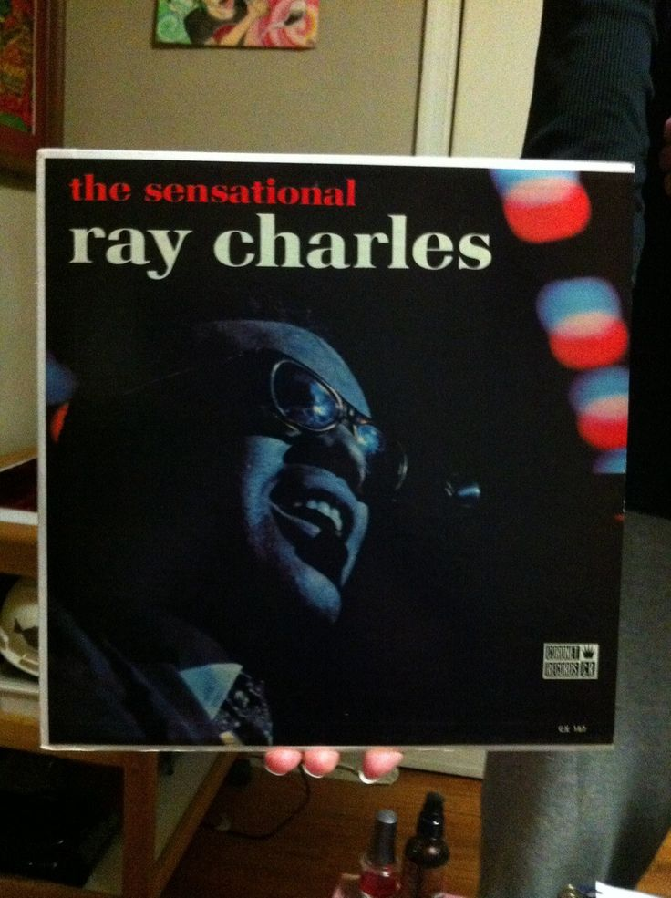 Ray Charles Mono Lp Coronet Records CX-187 Blues Funk Soul Mono 60's Vinyl