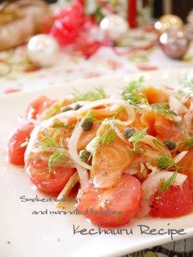 スモークサーモンとトマトのサラダ by ケチャ&ウル [クックパッド ...
