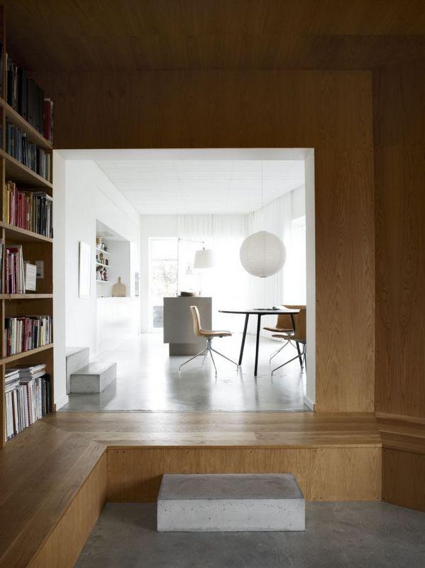 STIL INSPIRATION: Contemporary House | White + Wood