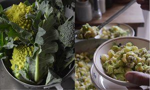 Rachel Roddy's recipe for pasta with broccoli and sausage   A kitchen in Rome   Life and style   The Guardian