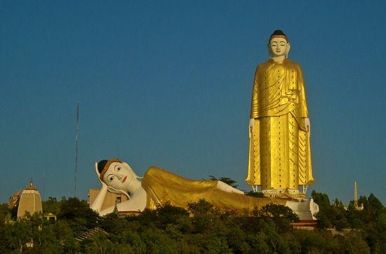 Monywa Buddhas - Monywa, Burma