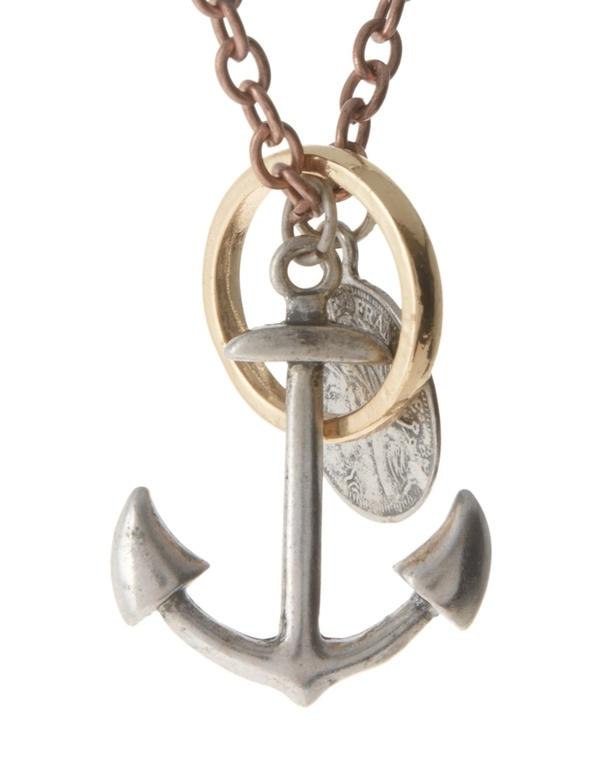 anchor wedding band