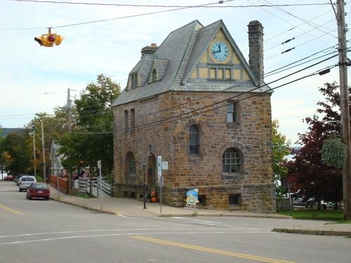 Post Office, Baddeck, Nova Scotia, 1885.