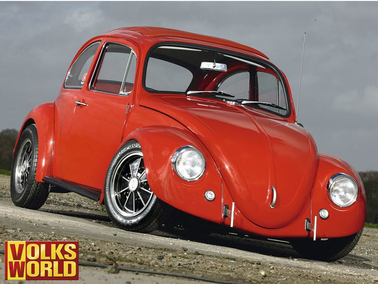 Vw Bug Camper >> VW Cal Look | VW Bug | Escarabajo, Volkswagen, Carros y motos