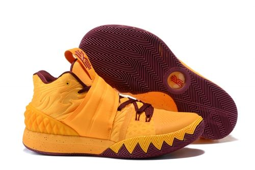 671111299c0a Nike Kyrie S1 Hybrid Cavs Orange and Wine Red For Sale